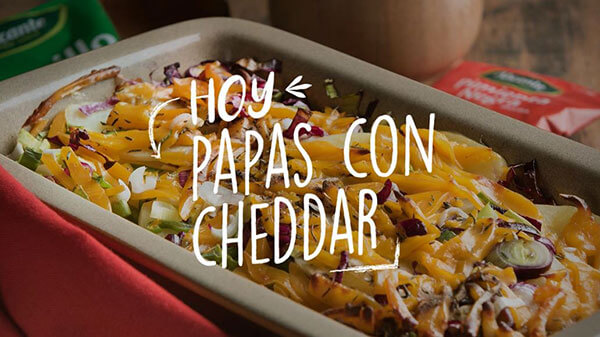 Video de Papas con Chedar