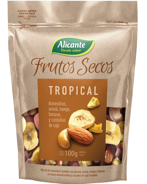 Paquete de Tropical - Frutos Secos