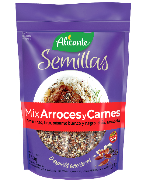 Paquete de Mix arroces y carnes - Semillas