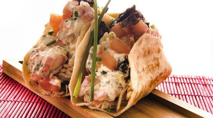 Tacos De Pollo Picante Receta De Alicante