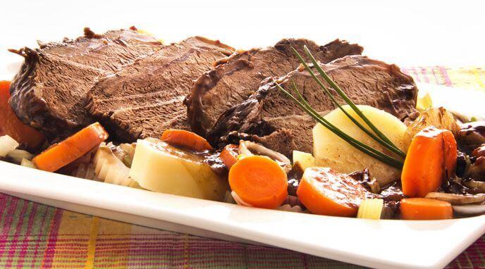 Carne a la cacerola receta de alicante - Tiempo de coccion de la patata ...