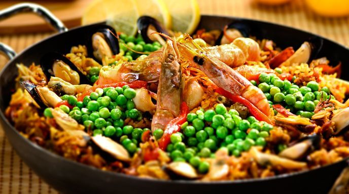 receta paella marinera