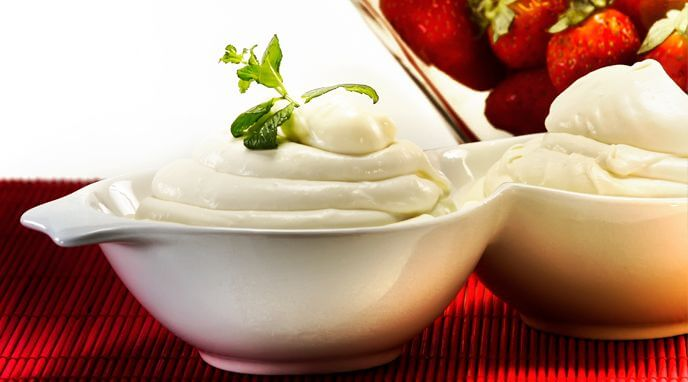 Receta de Crema Chantilly